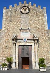 Taormina church 1 (PhillMono) Tags: nikon d7100 dslr sicily italy travel tourist history heritage architecture taormina church stone exterior