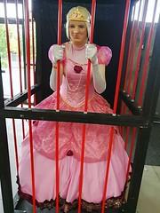 Supanova2 (MissCassandra) Tags: supanova melbourne pink ballgown pinkdress foxxiegal cage