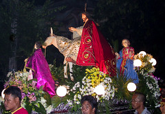 Holy Week Procession, Tabaco, Bicol, Philippines (Ray in Manila) Tags: bicol philippines asia island tropical luzon holyweek goodfriday procession catholic religion red horse people historical nightshot oriental pacific placeofworship tabaco