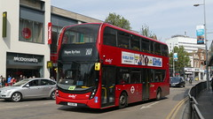 One Of The New Kids (londonbusexplorer) Tags: abellio west london adl enviro 400 mmc 2001 yx19org 207 white city hayes by pass tfl buses