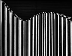 Waves (LowerThirdTierPhotography) Tags: xt3 35mm fujinon fuji blackwhite structures wood architecture forms germany
