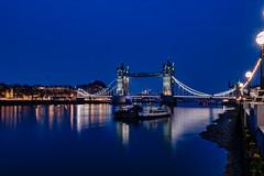 Tower Bridge, London (jor5472) Tags: iconic historic scenery scenic classic flickr wideangle nikon april boats london night thames towerbridge toweroflondon