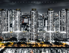 180927 黑金世界 (Royen Lock 2019) Tags: landscape architecture hdr night