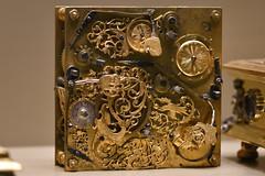 Horizontal Table Clock (c.1620) (Bri_J) Tags: britishmuseum london uk museum historymuseum nikon d7500 clockmechanism clock horizontaltableclock samuelhaug augsburg germany springdrivenwithfusees