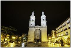 Plaza del Mercado y Catedral. LOGROÑO. LA RIOJA (Germán Yanes) Tags: larioja españa spain logroño concatedral santamaríalaredonda