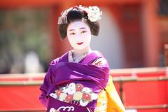 Maiko stage (Teruhide Tomori) Tags: kyoto japon japan heianjingushrine maiko performance tradition festival kimono stage 舞妓 京都 伝統 日本 着物 舞台 lady 踊り dance portrait event 平安神宮 happyplanet asiafavorites