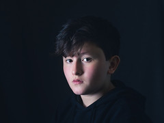 Portrait (kostamilicevic) Tags: people portrait child boy studio light