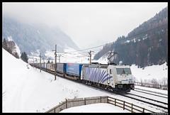 Lokomotion 185 661, St. Jodok 08-02-2018 (Henk Zwoferink) Tags: lokomotion lm henkzwoferink rtc lomo railtractioncompany traxx bombardier br185 stjodok stafflachtirolaustria