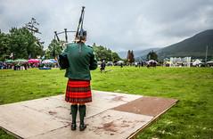 Solo Piper (FotoFling Scotland) Tags: event lochearnhead lochearnheadhighlandgames piper scotland highlandgames kilt scottish solopiper unitedkingdom
