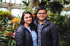 Shiv and Nicki (Graham Gibson) Tags: sony a7rii voigtlander 40mm f12 nokton fe phipps conservatory pittsburgh gardens