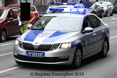 FuStw -Skoda Octavia III - VkPol BG (Stephan Dannigkeit) Tags: polizei policja police policija полиција саобраћајна wrd verkehrspolizei marathon 2019 belgrad belgrade beograd skoda octavia iii facelift
