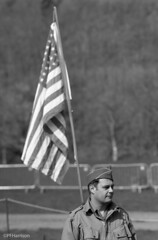 For the flag (pfh2010) Tags: film blackwhite 120 contax 645 ilford delta 100