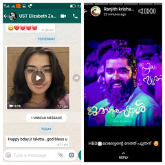 VINEESH V NAIR (Vinnesh V Nair) Tags: thanks lot each one you for your wish my day fulfilled with blessed all made birthday fabulous vineesh v nair official