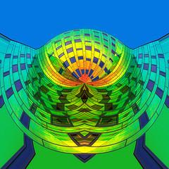 Variation on L'arc En Ciel (Oudje1955) Tags: larcenciel colorful colors colours colorfull color colour colourfull schalk canon70d canon canon1022mm creative abstract square