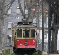 Porto tramway (patrick555666751 THANKS FOR 6 000 000 VIEWS) Tags: porto tramway tram carmo 18 typographie typography lettre letter lettering number nombre patrick55566675 portugal europe europa atlantic atlantique atlantico oporto portus cidade invicta
