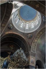 387- BÓVEDA DE LA CATEDRAL ORTODOXA DE HELSINKI (--MARCO POLO--) Tags: templos bóvedas catedrales arquitectura ciudades rincones