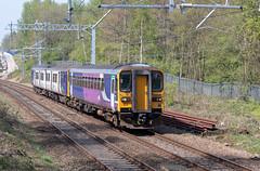 Northern 153317 (Mike McNiven) Tags: arriva rail north northern railnorth blackburn rochdale bolton kearsley farnworth sprinter supersprinter multipleunit diesel