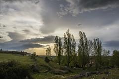 Atardecer en Valleruela (Alcides Jolivet) Tags: valleruela castilla segovia españa sunset