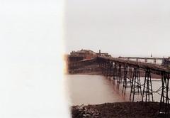 Birnbeck Pier (Walt Jabsco) Tags: kodakcolourplus kodak olympus olympusom10 weston birnbeck pier victorian birnbeckpier thestartoftheroll westonsupermare somerset