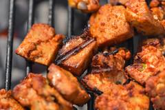 Korean BBQ Rice Burgers (joshbousel) Tags: asian cuisine daejibulgogi eat food gochujang korean koreanbarbecue koreanbbq koreanbbqriceburger rice riceburger