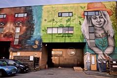 Hackney Wick (I M Roberts) Tags: urbanart hackneywick eastlondon fujix100s