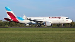 D-AEWW (AnDyMHoLdEn) Tags: eurowings a320 lufthansagroup staralliance egcc airport manchester manchesterairport 05r