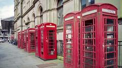 Preston Phone Booths (Matthew_Hartley) Tags: preston phonebooth phonebooths lancashire northwest england uk canon ixus elph z70 film aps advancedphotosystem fujifilm fuji nexia 200