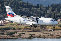 Sky Express ATR 42-500 SX-SIX 002 (A.S. Kevin N.V.M.M. Chung) Tags: aviation aircraft aeroplane airport airlines plane spotting flying greece corfu cfu atr42500 atr approach landing