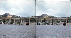 Batch E 0033 (dizzygum) Tags: vintage stereo 3d slide images 1960 european trip us to europe gates palace versailles