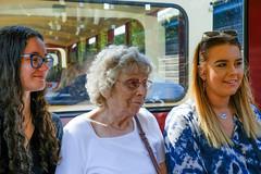 Jodie, Granny and Melissa (timnutt) Tags: parkland xt2 northampton northamptonshire wicksteedpark people fuji 35f2wr park 35mm fujifilm kettering