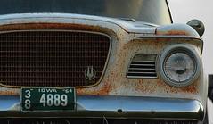 unlucky Lark (David Sebben) Tags: unlucky lark studebaker abandoned car automobile rust iowa
