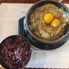 Bulgogi with Glass Noodle (hinxlinx) Tags: tofu house bulgogi glass noodle eggs brown rice food lunch