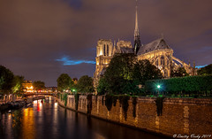 Notre Dame Memories (Strange Quark) Tags: notredame paris parisstrong canon1022mm longexposure bluehour night evening riparian river seine 201206250769aurorahdr2019edit