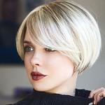 25 Short bob hairstyles with bangs thumbnail