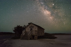Old Ferrys Landing MW with Kit Lens (Mike Ver Sprill - Milky Way Mike) Tags: maryland assateague island milky way galaxy mike universe kit lens nikon 1855 entry level camera dslr learn tutorial astrophotography astronomy stars starry landscape nightscape chser chaser d7200