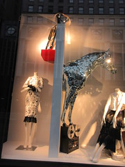 2019 The 2nd Best Easter Window This Year 6496 (Brechtbug) Tags: 2019 the 2nd best easter window this year decorated with disco glitter horse tape recording machine bergdorf goodman department store 5th avenue 58th street nyc new york city fashion april 04202019