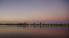 South Perth Sunrise (alme 27) Tags: australia elizabethquay morning perth river sky southpacfic sun sunrise swanriver water westernaustralia pentax k1ii sigmalens longexposure skyline reflection southperth