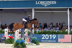 Hurdle 7. Longines Global Champions Tour 2019. Miami Beach (Mariner's Photography) Tags: longines global tour 2019 champions seven flickrfriday horses race jumps