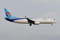 Hebei Airlines Boeing 737-8LW(WL) B-1560 (EK056) Tags: hebei airlines boeing 7378lwwl b1560 bangkok suvarnabhumi airport