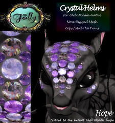 Folly_NoodleCrystalHelmAd_Hope (Cane's Folly SL) Tags: cane sutter second life chibi noodle avatars