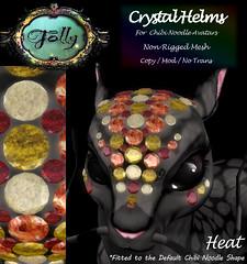Folly_NoodleCrystalHelmAd_Heat (Cane's Folly SL) Tags: cane sutter second life chibi noodle avatars