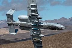 Loaded Up (dmeg180) Tags: a10 a10c ot airforce usaf nellis plane aircraft airplane jet military hog hawg sidewinder jeditransition starwarscanyon r2508 lowlevel nikon d500 200400mm
