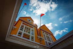 Da Lat railway station (longtnguyen) Tags: centralvietnam dalat frencharchitecture vietnam architectural architecture building city exterior historicalplace history interior old