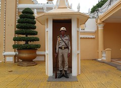 Guard of the Royal Palace, Phnom Penh