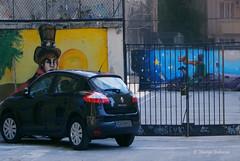 The Little Prince glanced between the blocks (gulenovamariya) Tags: city thelittleprince graffiti