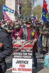 DSC_8216 (Malcolm Saunders) Tags: uk veterans poster justice for northern ireland london march good friday 2019 justicefornorthernirelandveterans goodfriday2019