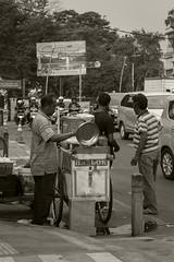 Baslok Business (sepia) (Triple_B_Photography) Tags: indonesia java canon eos 7d 2018 bogor nationalpark street sepia travel tourism tourist