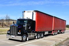 G1 Logistics #532 - Kenworth T610 SAR Tautliner (Scottyb28) Tags: truck trucks trucking highway haulage diesel interstae