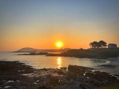 Saint Briac (G.Billon) Tags: îleetvilaine breizh breizhmabro bzh bretagne saintbriac cameraphone iphoneography iphone landscape webelongtothesea seaside seascape sunrise gbillon