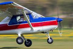 G-BFIE Cessna 150M (amisbk196) Tags: airfield aircraft headcorn amis flickr 2019 unitedkingdom kent uk lashenden gbfie cessna 150m